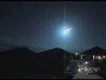 Vidéo d'une chute de météorite