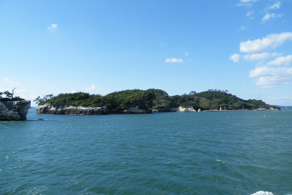 Matsushima - Iles séparées lors du tsunami après le seisme du Chili de 1960