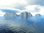 Terragen - Ile rocheuse - Rock island