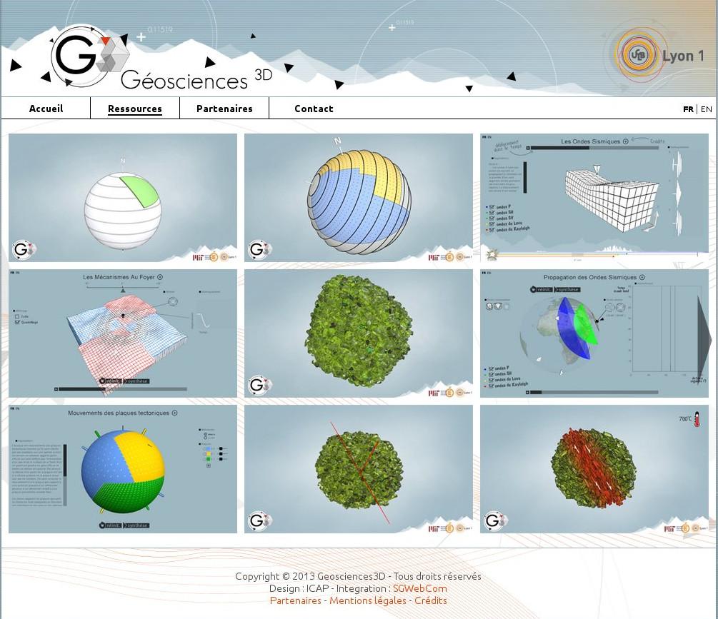 Geosciences 3D